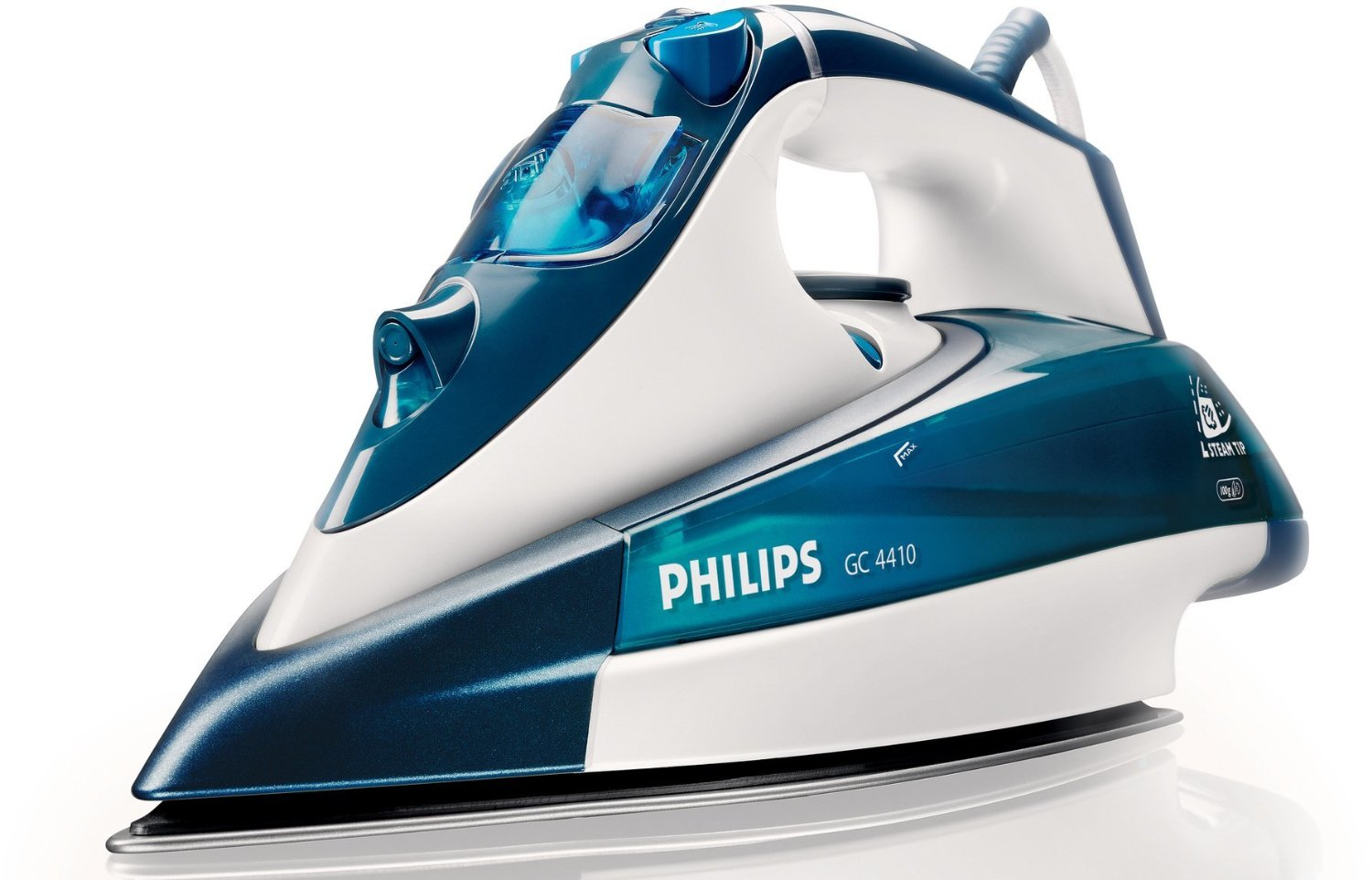 how to clean philips steam iron