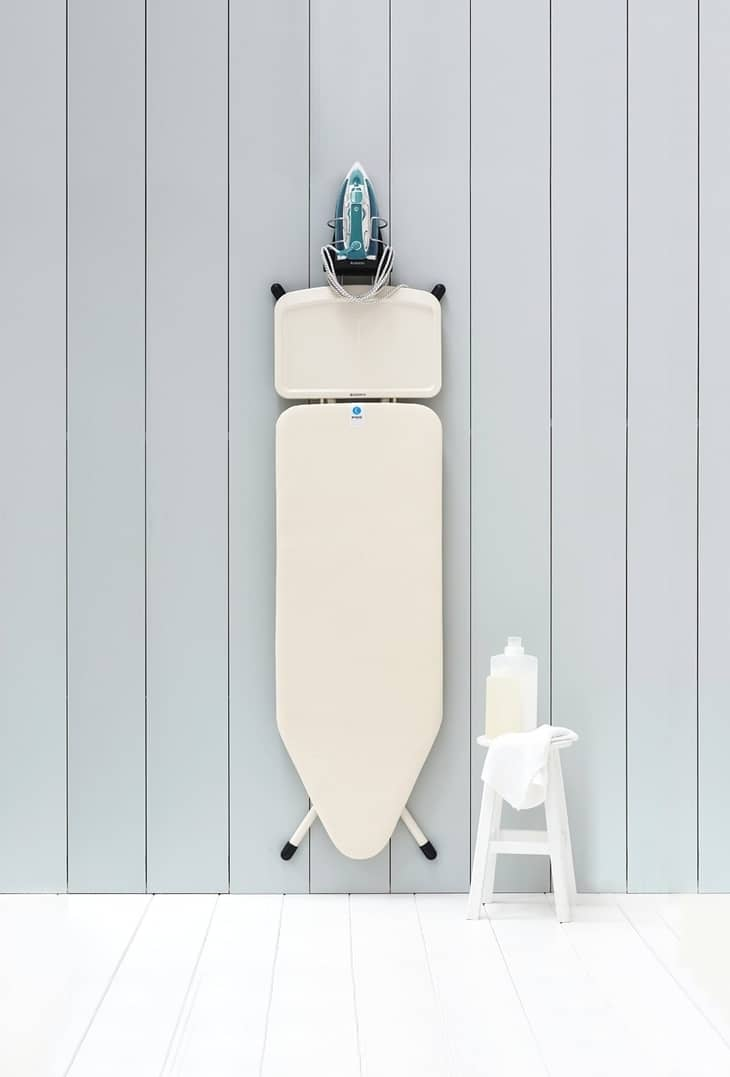 Over The Wall Ironing Board Holder Hanger Cupboard Door Wall Mount Storage Rack