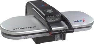 PICTURE OF A SOLVER STEAM IRONING PRESS