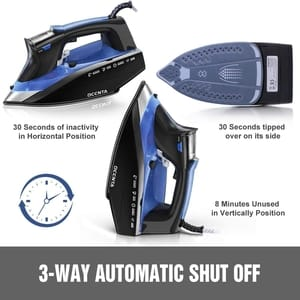 steam iron automatic cut off