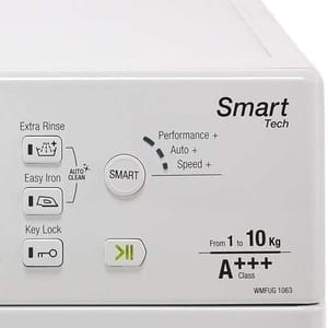 energy rating for a washing machine